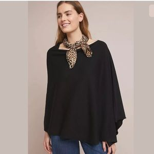 New Anthropologie Seattle Cashmere Cotton Poncho